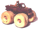 Monster Truck Woodworking Plan