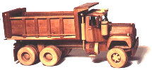 Construction Equipment - Dump Truck Woodworking Plan