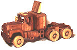 Construction Equipment - Big Rig Woodworking Plan