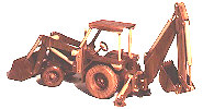 08-16 - Construction Equipment - Backhoe - Loader Woodworking Plan