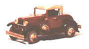 1930 Model A Roadster Woodworking Plan