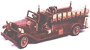 Antique Buffalo Firetruck Woodworking Plan