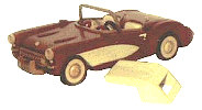 08-22 - Classic Sports Car Woodworking Plan