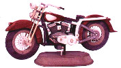 Sizzler Motorcycle Woodworking Plan