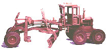 Construction Equipment - Road Grader Woodworking Plan