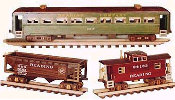 Railroad Cars Train Woodworking Plan
