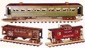 Railroad Cars Train Woodworking Plan