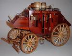 Stagecoach Scrollsaw Model Woodworking Plan