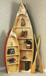 19-W2262 - Boat Shelf Small Full Size Woodworking Plan.