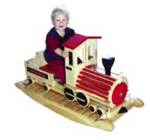 19-W2304 - Iron Horse Rocker Woodworking Plan.