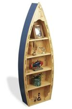 fee plans woodworking resource from WoodworkersWorkshop Online Store - boat bookcase,boating,boats,wooden,bookshelves,bookshelfs,nautical,marine,woodworking plans,scrollsawing projects,easy,beginner,patterns,full-sized,templates