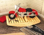 Motorcycle Rocker Woodworking Plan.
