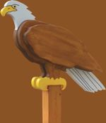 Eagle Sentry Woodworking Plan.