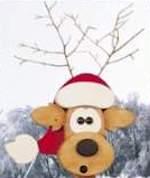 Reindeer Bird Feeder Woodworking Plan.