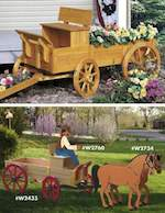 19-W2696 - Sleigh Runners for Buckboard Woodworking Plan