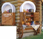 Chuck Wagon Woodworking Plan., western,wagons,picnic tables,stagecoaches,yard art,solid wood crafts,woodworking plans,projects,easy,beginner,patterns,full-sized,templates