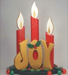 19-W2950 - Joy Post Candles Woodworking Plan.