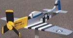 Airplane Whirligig - Mustang P-51 Woodworking Plan.