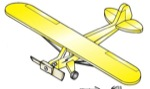 19-W2972 - Airplane Whirligig - Piper Cub/Champ Woodworking Plan