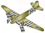 Douglas DC 31-C-47 Weathervane Whirligig Woodworking Plan