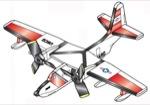 Albatross HU-16 Weathervane Whirligig Woodworking Plan