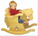Infant Rocking Horse Chair Woodworking Plan. woodworking plan
