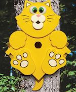 19-W3279 - Kitty Corner Birdhouse Woodworking Plan