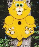 Kitty Corner Birdhouse Woodworking Plan