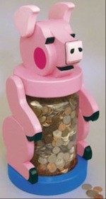 Jumbo Piggy Bank Woodworking Plan