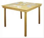 19-W3298 - Folding Game Table Woodworking Plan.