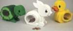 19-W3377 - Baby Pet Coin Banks Woodworking Plan Set.