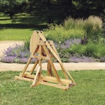 19-W3437 - Tennis Ball Trebuchet Woodworking Plan.