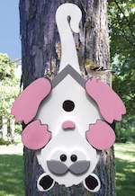 Possum Birdhouse Woodworking Plan.