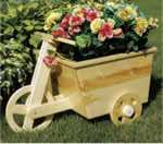 Tricycle Planter Woodworking Plan.