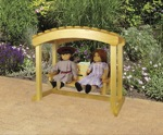 Doll Arbor Swing Woodworking Plan. woodworking plan