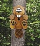 Beaver Birdhouse Woodworking Plan