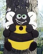 Bumblebee Birdhouse Woodworking Plan. - Paper plan