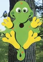 Tree Lizard Birdhouse Woodworking Plan.
