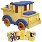 Pickup Truck Woodworking Plan