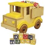 Dump Truck Toy Woodworking Plan. woodworking plan