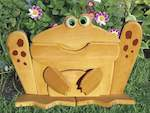 Garden Lookout Toad Woodworking Plan - Paper plan woodworking plan