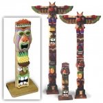 19-W3689 - Hawaiian Totem Pole Woodworking Plan