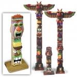 Hawaiian Totem Pole Woodworking Plan