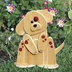 Garden Lookout Dog Woodworking Plan