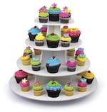Cup Cake Rack Woodworking Plan.