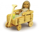 19-W3705 - Doll Wagon Woodworking Plan.