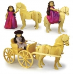 Doll Carriage Horse Woodworking Plan.
