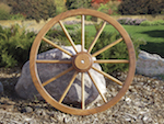 Wagon Wheel 36 inch Woodworking Plan. - Paper plan