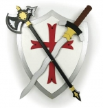 Medieval Weaponry Woodworking Plan