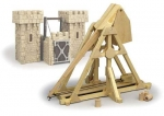 Desktop Trebuchet Woodworking Plan